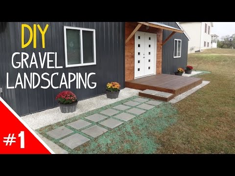 DIY Clean 'n Simple Gravel Landscaping - Part 1 of 2