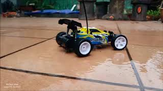 rc mini buggy scale 1/22 unboxing and test
