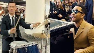 Download Lagu 9 Times Celebs Gave SURPRISE Subway Performances Gratis STAFABAND