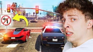 Attempting GTA 5 without BREAKING ANY LAWS!