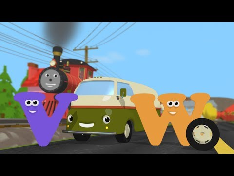 Help Shawn the Train Fix the Van's Wheel! (Learn about letters V and W)