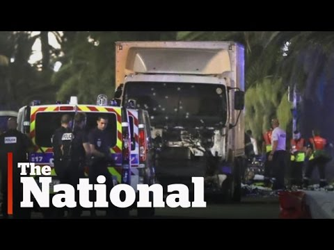 Truck plows into Bastille Day crowd in Nice, France