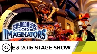 Skylanders Imaginators Lets You Design Your Character From Scratch - E3 2016 Stage Show