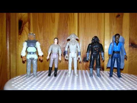 hear b me. vintage star wars collection.