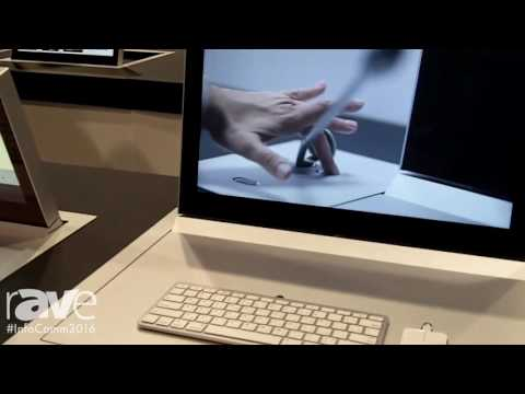 InfoComm 2016: Arthur Holm Demonstrates 22″ Dynamic3