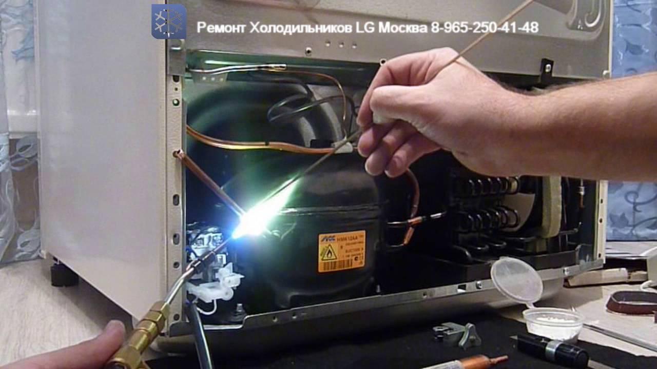 Ремонт холодильников LG на дому в Москве