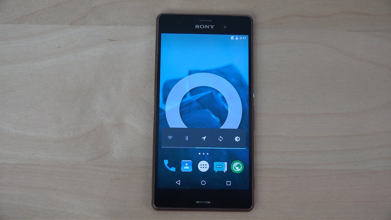 Sony Xperia z3 Android 5.0