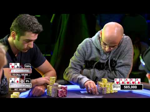 Aussie Millions 2012 Main Event. Ep11. HD