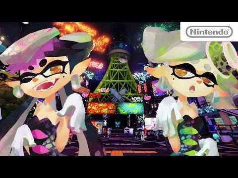 [キター!!]数量限定!「WiiUスプラトゥーンセット(本体同梱版)」の発売決定!11月12日から販売開始だよーー!