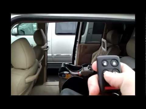 2007 Honda Odyssey automatic door problems