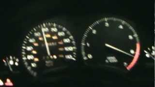 saturn s-series 0-92 mph twin cam w/ sohc tras. hand ported twin cam, new rings, k&n, hks muff.