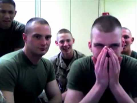 Marines REACTION TO SEANZVIEWENT SHOWING HIS PENIS ON YOUTUBE...