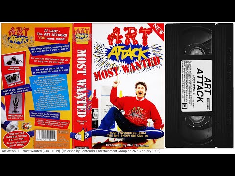 Dracula Art Attack Art Attack Most Wanted Vhs