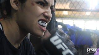 Thiago Santos, Polyana Viana Prepare For UFC 227 - MMA Fighting