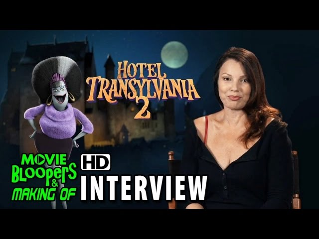 Hotel Transylvania 2 (2015) Behind the Scenes Movie Interview - Fran Drescher is 'Eunice'