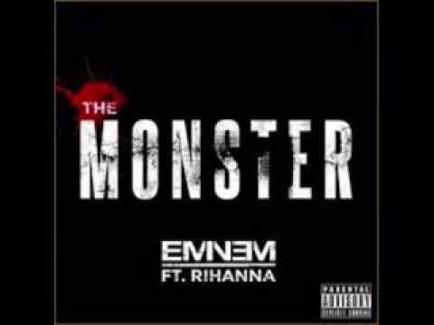 Eminem - The Monster ft. Rihanna (Lyrics)