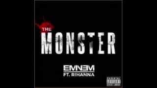 Eminem - The Monster ft. Rihanna (Lyrics)