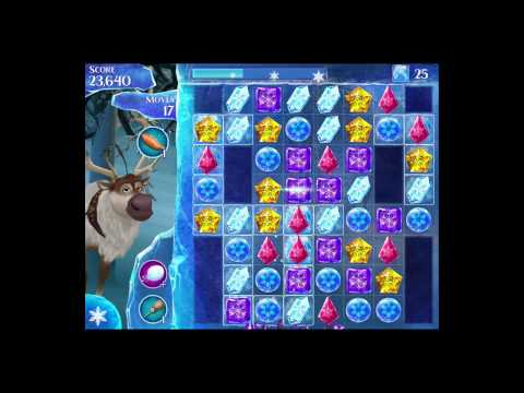 Disney Frozen Free Fall Level 92