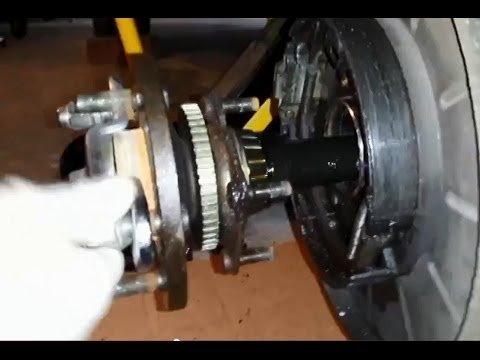 2000 Grand Cherokee Limited (WJ) - Rear Axle Bearing & Seal Replacement