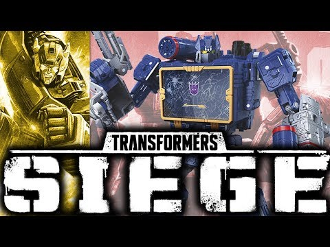 BEFORE IT'S OUT    Transformers Siege War for Cybertron Soundwave [Photo Pre-Review]