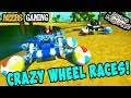 Scrap Mechanic - Crazy Wheels Races!