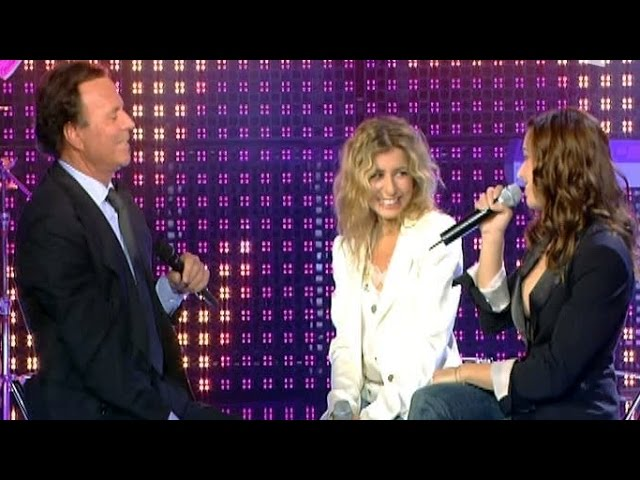 Julio Iglesias amp Natasha St Pier, Julie Zenatti - Il faut toujours un perdant