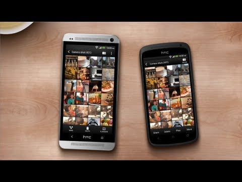 HTC One (M7) - Move stuff from an old Android phone to a new one