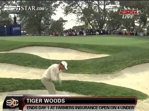 Tiger Woods atop