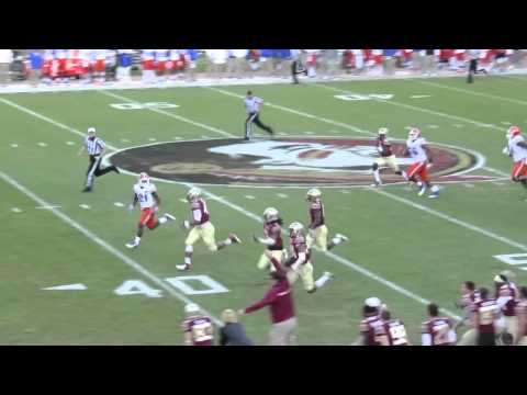 Smith Fsu Fsu's Terrance Smith Pick-6 vs