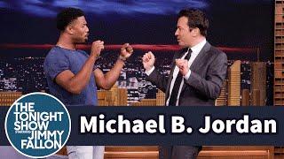 Michael B. Jordan Slipped His Childhood Handshake into NBA 2K17