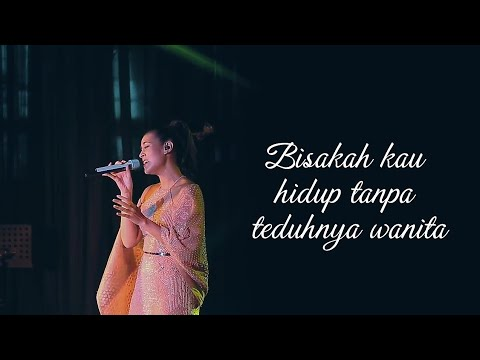 Raisa   Teduhnya Wanita  lyric video    Ost Ayat Ayat Cinta 2