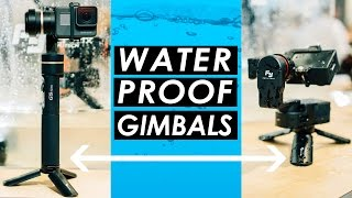 Best Waterproof Gimbal? — Feiyu Tech G5 and WG2 Gimbal Stabilizers