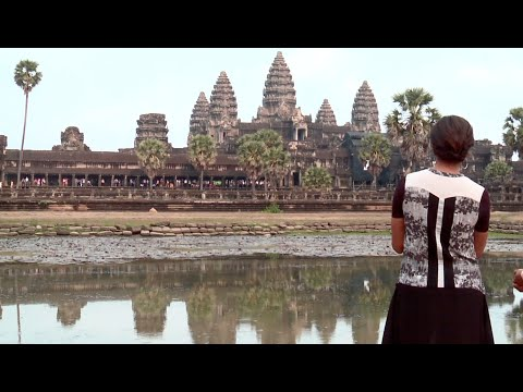 On Board with First Lady Michelle Obama: Angkor Wat