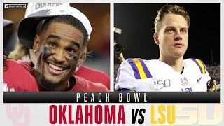 Peach Bowl Expert Picks: #4 Oklahoma vs #1 LSU, Joe Burrow vs Jalen Hurts | CBS Sports HQ