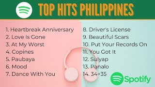 Download lagu Top Hits Philippines | Spotify as of March 03, 2021