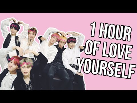 1 Hour of BTS Saying Love Yourself