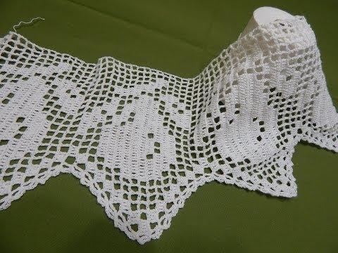 Orilla # 15 Peras en Crochet parte 1 de 2