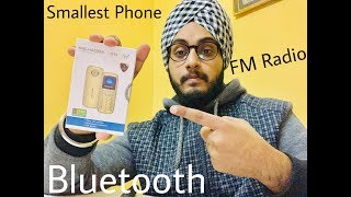 World's Smallest Phone Unboxing and Hands on!!(Kechaoda K10)!!