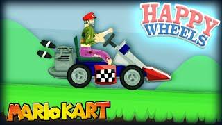 Amazing Mario Kart Level! || Happy Wheels #35