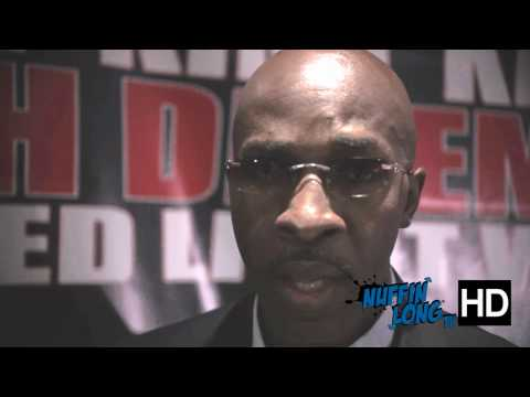 We caught up with Barry (Lamont Petersons coach) ahead of the fight with Amir Khan vs Lamont Peterson @ their press conference in London. www.nuffinlong.com ...