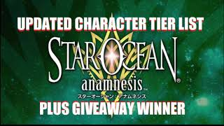 Star Ocean Anamnesis Best Tier List Updated - SS Rank + S Rank Characters & Giveaway Winners