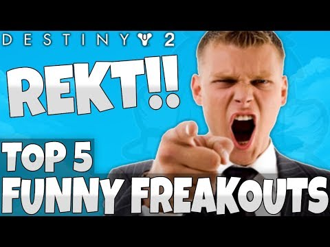 Destiny 2: Top 5 Freakout Reactions To Epic Plays!! Episode 14