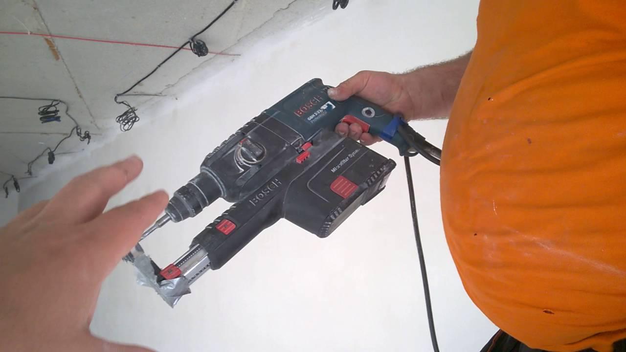 Насадка на перфоратор для пылеудаления своими руками 90