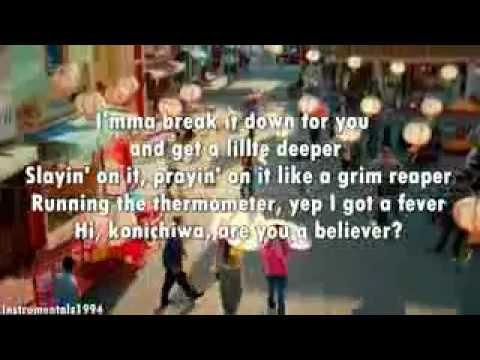 Karmin - Hello (lyrics) Instrumental video