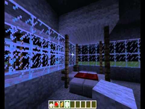 como decorar tu casa en minecraft ep 3 dormitorio youtube. Black Bedroom Furniture Sets. Home Design Ideas