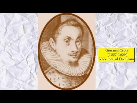 Giovanni Croce - Voce mea