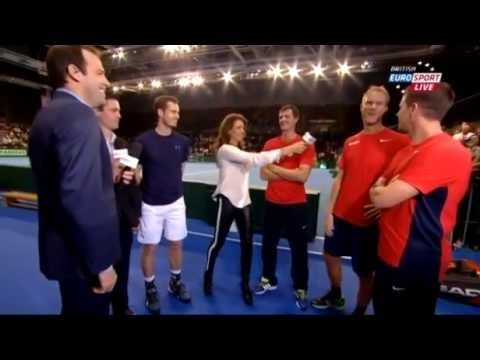 Andy Murray reveals Dominic Inglot has a side chick in Glasgow