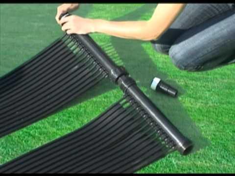 Film notice d 39 utilisation mode d 39 emploi chauffage for Chauffage piscine panneaux solaires