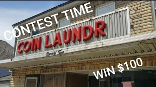 I bought another laundromat - Win $100 by guessing how much it will make