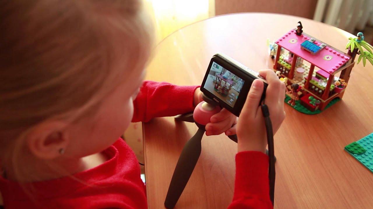 Видеоурок по фото для детей